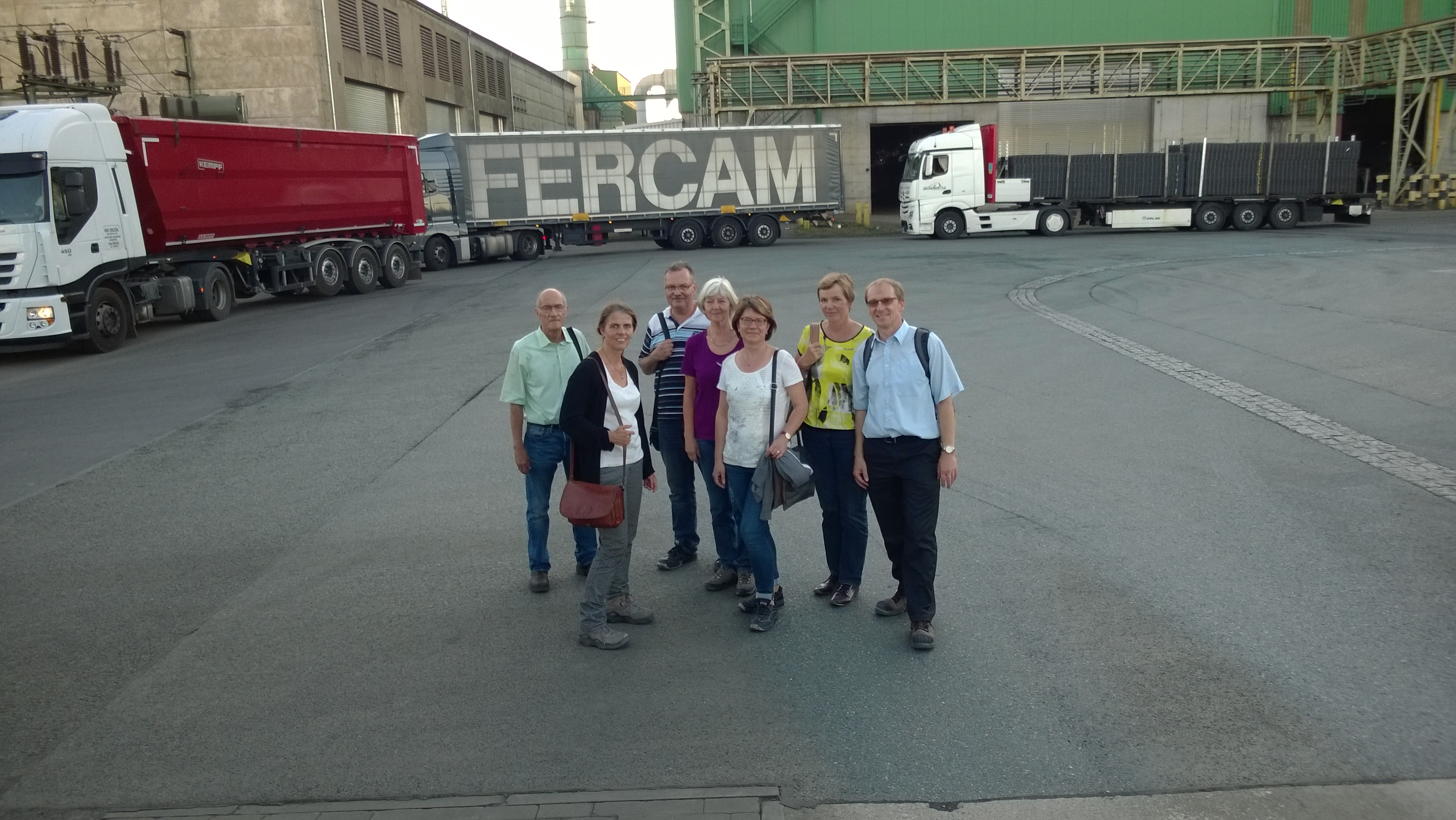 Exkursion zu FERALPI Stahl in Riesa - SVU-Online